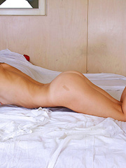 Playful Nubile gets naked in bed - Sexy Women in Lingerie - Picture 12