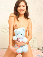 Teen nude babe  playing teddy; you - Sexy Women in Lingerie - Picture 2