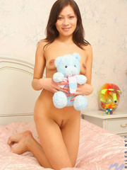 Teen nude babe  playing teddy; you - Sexy Women in Lingerie - Picture 7