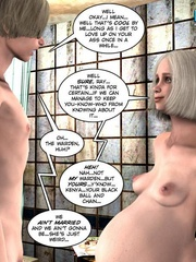 Nude pregnant blone babe and her naked - Cartoon Sex - Picture 9