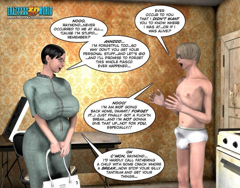 Young slim shaped 3d guy fucks and older - Cartoon Sex - Picture 3