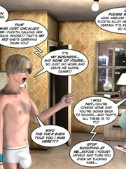 Young slim shaped 3d guy fucks and older - Cartoon Sex - Picture 5