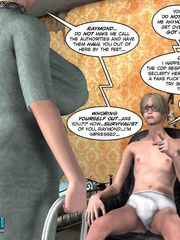 Young slim shaped 3d guy fucks and older - Cartoon Sex - Picture 6