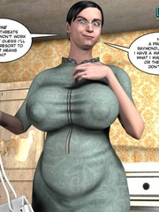 Young slim shaped 3d guy fucks and older - Cartoon Sex - Picture 7