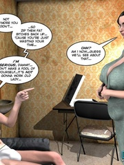 Young slim shaped 3d guy fucks and older - Cartoon Sex - Picture 8