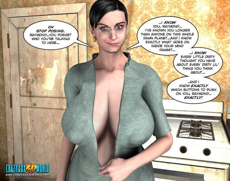 Young slim shaped 3d guy fucks and older - Cartoon Sex - Picture 9