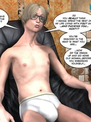 Young slim shaped 3d guy fucks and older - Cartoon Sex - Picture 10