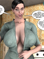 Young slim shaped 3d guy fucks and older - Cartoon Sex - Picture 11