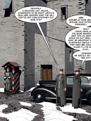 3d nazi officer interrogates beautiful - Cartoon Sex - Picture 5