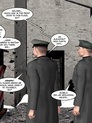 3d nazi officer interrogates beautiful - Cartoon Sex - Picture 6