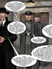 3d nazi officer interrogates beautiful - Cartoon Sex - Picture 8