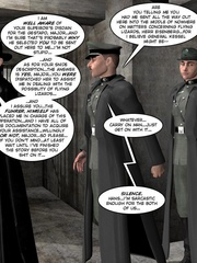 3d nazi officer interrogates beautiful - Cartoon Sex - Picture 9