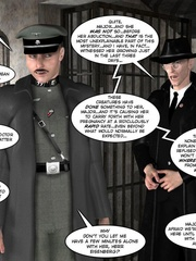 3d nazi officer interrogates beautiful - Cartoon Sex - Picture 11