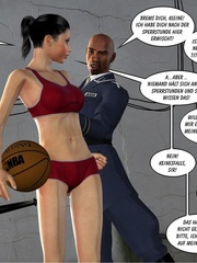 Playful basketball player girl gets fucked - Cartoon Sex - Picture 5