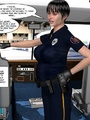 Big tits 3d police officer forced - Picture 3
