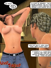 Super sexy 3d stripper gets her tight brown - Cartoon Sex - Picture 15