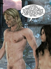 Naked knight and his 3d nude girlfriend came - Cartoon Sex - Picture 9