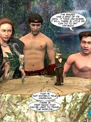Naked knight and his 3d nude girlfriend came - Cartoon Sex - Picture 15