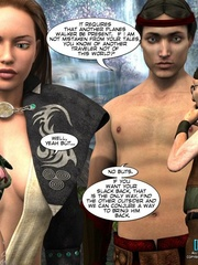 Naked knight and his 3d nude girlfriend came - Cartoon Sex - Picture 16