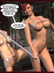 Hot big boobed bondaged shemale forced to - Cartoon Sex - Picture 3