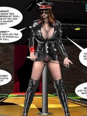 Two slutty 3d strip girls flashing their - Cartoon Sex - Picture 2