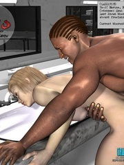Slim shaped 3d  white babe get fucked and cum - Cartoon Sex - Picture 1