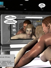 Slim shaped 3d  white babe get fucked and cum - Cartoon Sex - Picture 2