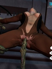Slim shaped 3d  white babe get fucked and cum - Cartoon Sex - Picture 13