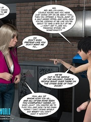 Young 3d guy in the basement cums all over - Cartoon Sex - Picture 10