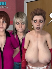 Big cocked young 3d dude gonna fcuk three - Cartoon Sex - Picture 16