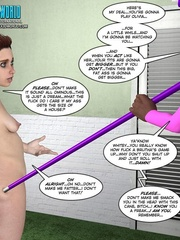 Petite young 3d babe talking all nude with - Cartoon Sex - Picture 9