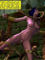 Sexy 3d elf babe was captured and banged by - Cartoon Sex - Picture 12