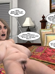 Two sex hungry 3d girls in hot bedroom - Cartoon Sex - Picture 9