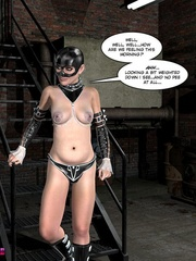 Big boobed restrained 3d cutie kept in - Cartoon Sex - Picture 3