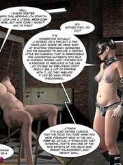 Big boobed restrained 3d cutie kept in - Cartoon Sex - Picture 4