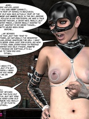 Big boobed restrained 3d cutie kept in - Cartoon Sex - Picture 5