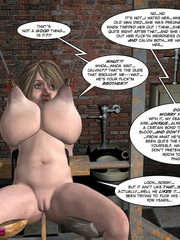 Big boobed restrained 3d cutie kept in - Cartoon Sex - Picture 6