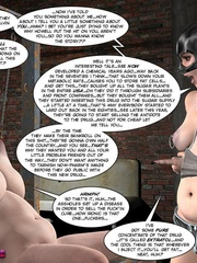Big boobed restrained 3d cutie kept in - Cartoon Sex - Picture 7
