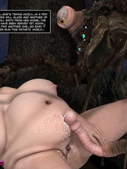 Ugly big cocked 3d monster fucks plump woman - Cartoon Sex - Picture 9