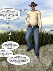 Horny busty 3d wife geetin naked on the beach - Cartoon Sex - Picture 14