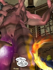 Hot 3d fuck scene of tentacle monster and - Cartoon Sex - Picture 2