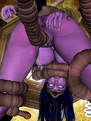 Hot 3d fuck scene of tentacle monster and - Cartoon Sex - Picture 3