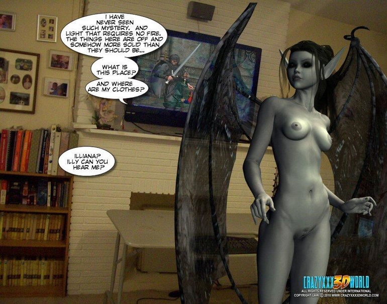 Magic creatures real horny 3d woman offering - Cartoon Sex - Picture 2