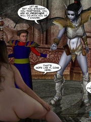 Magic creatures real horny 3d woman offering - Cartoon Sex - Picture 16
