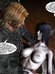 Demonic busty 3d babe gets her wet pussy - Cartoon Sex - Picture 15