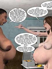 Black 3d guy caught drilling white pregnant - Cartoon Sex - Picture 13