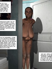Black 3d guy caught drilling white pregnant - Cartoon Sex - Picture 16