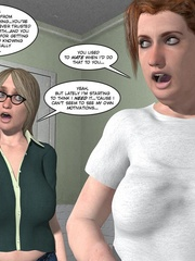 Busty blonde 3d girl revelaing her naked body - Cartoon Sex - Picture 11