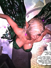 3d gang bang action of petite elf girl and - Cartoon Sex - Picture 2