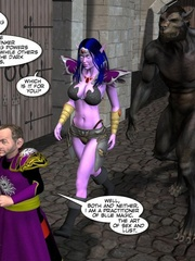 3d gang bang action of petite elf girl and - Cartoon Sex - Picture 4